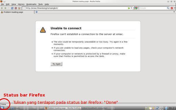 Status Bar Firefox