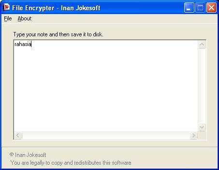 File Encrypter 1