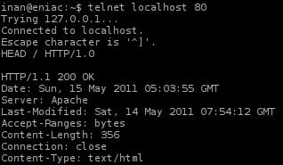 Informasi Server Apache Sesudah di Minimalisir