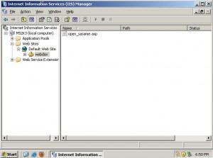 Isi Folder 'webdav' Sekarang