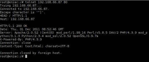 Mengais Informasi dari HTTP Response