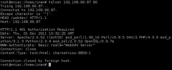 HTTP Respon 401