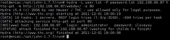 Enumerasi WebDAV dengan Bruteforce