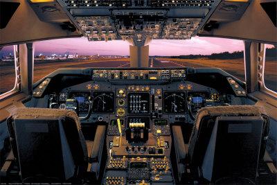 Kokpit Boeing 747-400
