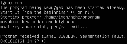 Debugging Error Step 2