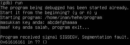 Debugging Error Step 2